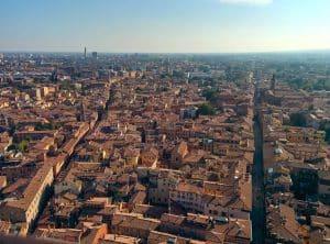 Vakantie naar Bologna