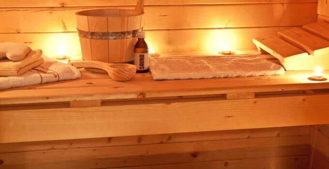 vakantiehuis met sauna